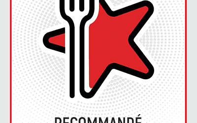 « Badge Recommandation » par Restaurant Guru