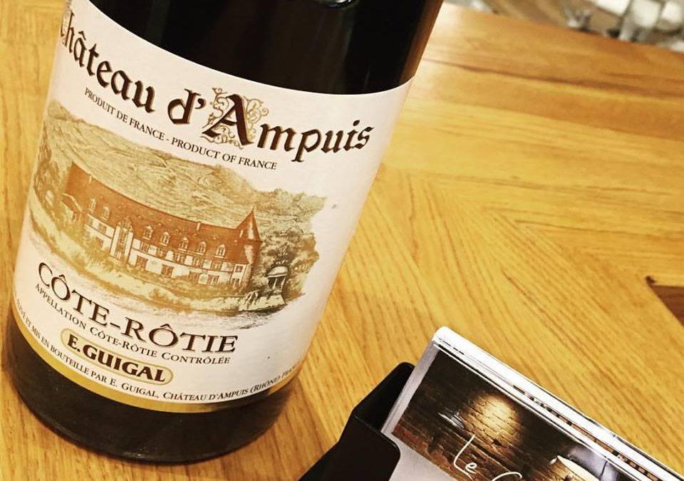 Nouvelle entrée sur la carte des vins
